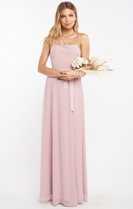 Show Me Your Mumu Lauren Tie Maxi Dress