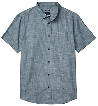 Prana San Martino (Nickel Bermuda Chambray) Men's Clothing