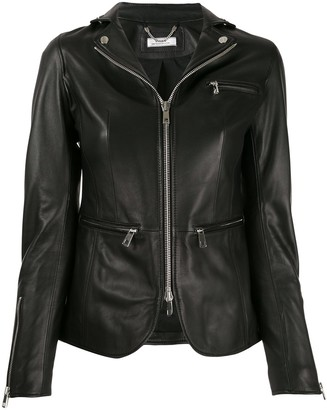 Desa 1972 Zipped Leather Jacket