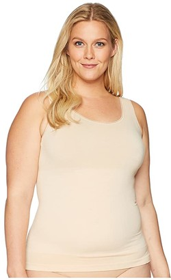 Yummie Plus Size Seamless Reversible Smoothing Tank