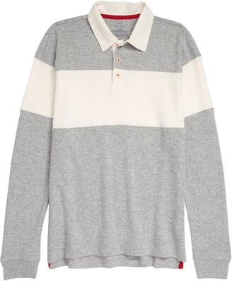 1901 Kids' Rugby Long Sleeve Polo
