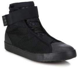 Y-3 Loop Court High-Top Sneakers