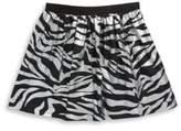 Kenzo Toddler's, Little Girl's & Girl's Zebra Cotton Skirt