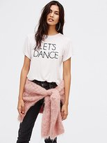 Daydreamer Bowie Let's Dance Tee by at Free People