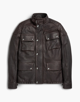 Belstaff Woodbridge Leather Jacket Black