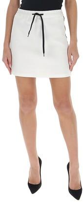 Miu Miu Logo Tape Skirt