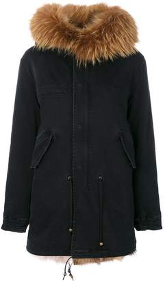 Mr & Mrs Italy classic fur-lined parka