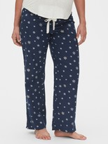 Gap Maternity Full Panel Flannel Pajama Pants