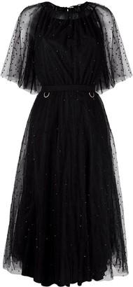 Maria Lucia Hohan Shani beaded tulle dress