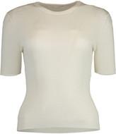 Michael Kors White Short Sleeve Crewneck