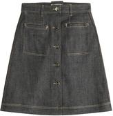 Carven Denim Skirt