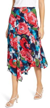 Gibson x International Women's Day Fancy Ashley Asymmetrical Flowy Midi Skirt