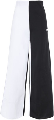 adidas Two-tone Knitted Wide-leg Pants
