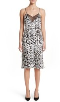 ADAM by Adam Lippes Women's Ocelot Velvet Jacquard Dress