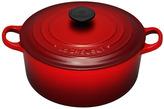 Le Creuset Cast Iron Round Casserole 20cm - Cerise