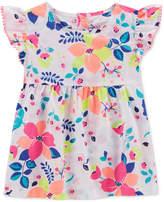 Carter's Floral-Print Cotton Top, Little & Big Girls