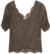 Joie Nevina guipure lace top