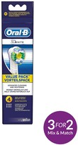 Oral-B White And Clean Pro Bright Brush Heads