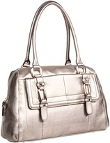 B. Makowsky Goodwin Satchel (Clay) - Bags and Luggage