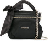 Twin-Set chain strap shoulder bag - women - Polyamide/Polyester/Polyurethane - One Size