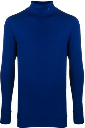 Ambush Embroidered-Initial Roll Neck Jumper