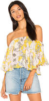Yumi Kim Butterfly Top in Yellow. - size M (also in S,XS)