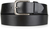 Tommy Hilfiger Black Matte Leather Belt
