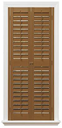 "Plantation Faux Wood Interior Shutter, 29-31"" W x 48"""
