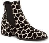 Tibi Dakora Genuine Calf Hair Split Seam Chelsea Boot