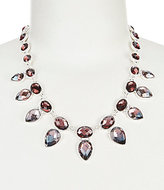 Anne Klein Faceted Faux-Crystal Collar Necklace