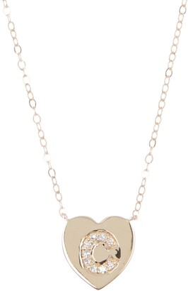 Ron Hami 14K Yellow Gold Heart Pendant Necklace