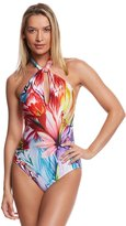 Gottex Spring Embrace High Neck One Piece Swimsuit 8158023