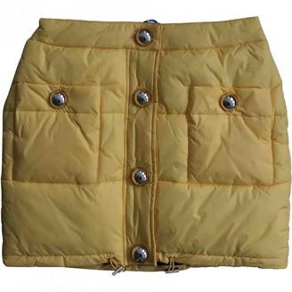 Moschino Yellow Skirt for Women