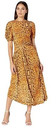 Preen by Thornton Bregazzi Daliz Dress (Natural Serpent Skin) Women's Clothing