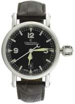 Chronoswiss Time Master CH2833 Stainless Steel Black Dial Automatic 40mm Mens Watch