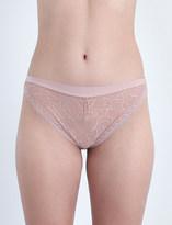 Implicite Intense stretch-lace tanga briefs