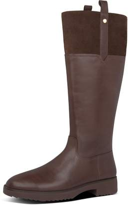 FitFlop Signey Mixte Leather Knee-High Boots