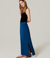 LOFT Petite Essential Maxi Skirt