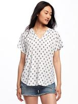 Old Navy Relaxed Cocoon Top for Women