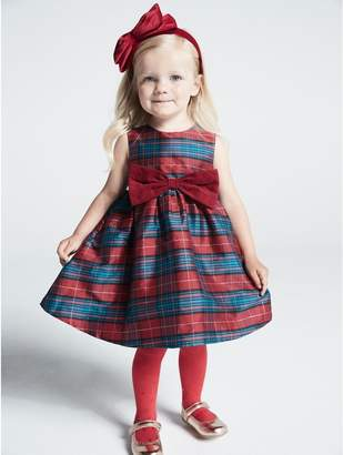 M&Co Tartan prom dress (9 mths - 5 yrs)