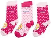 Prinzessin Lillifee Girl's Knee-High Socks - Pink -