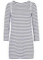 A.L.C. Chapman Striped Jersey Mini Dress