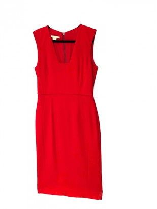 Antonio Berardi Red Silk Dress for Women