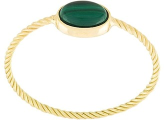Wouters & Hendrix Gold delicate Malachite ring