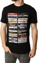 Famous Stars & Straps Men's Hip Hop Tapes Graphic T-Shirt