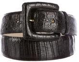 Nancy Gonzalez Crocodile Belt