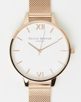 Olivia Burton Big Dial Mesh Watch