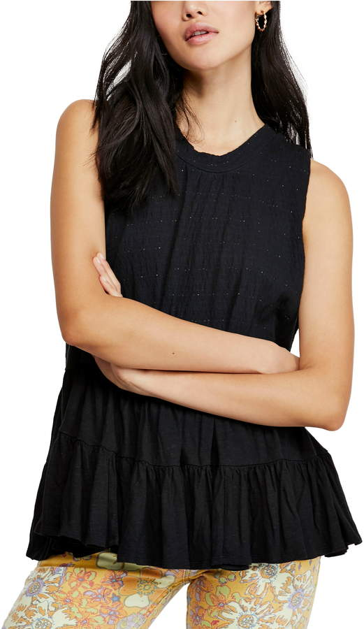 Free People Right on Time Tunic Top