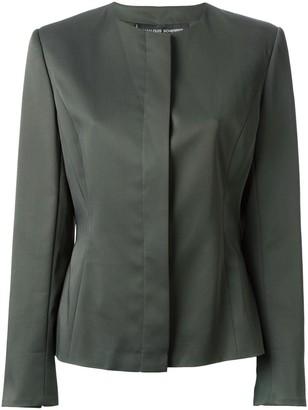 Jean Louis Scherrer Pre Owned Classic Crepe Jacket