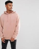 Asos Oversized Hoodie in Pink